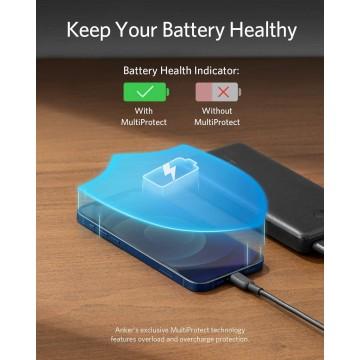 Syncwire Coque iPhone 8/7 Transparente - Housse de Protection en Silicone Rigide Anti Choc avec Technologie de Coussins d'air Ét