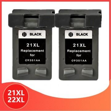 2x Noir 21 22 XL...