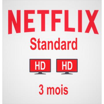 Compte Netflix Standard 3...