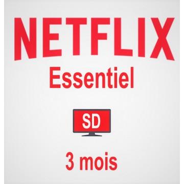 Netflix Essentiel 3 mois |1...